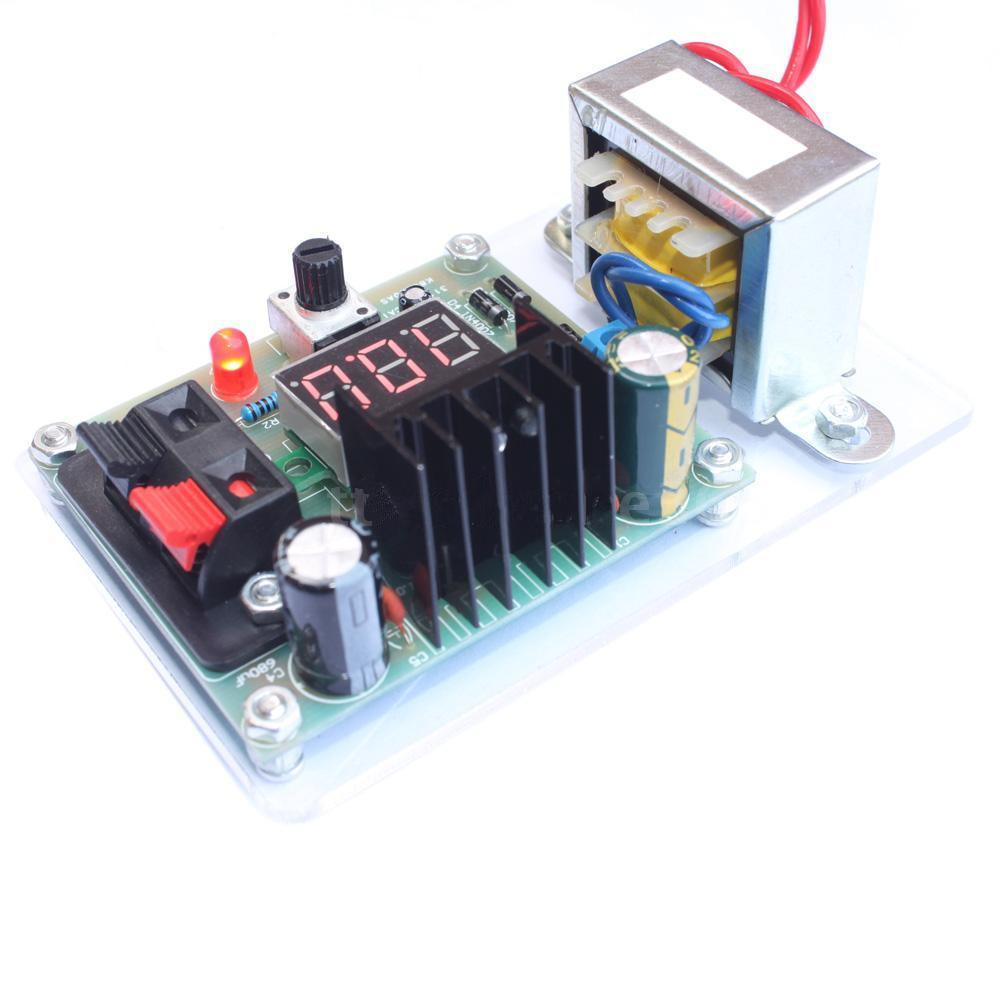Continuously Adjustable Regulated Dc Power Supply Diy Kit Lm317 125 Variable Circuit 12v