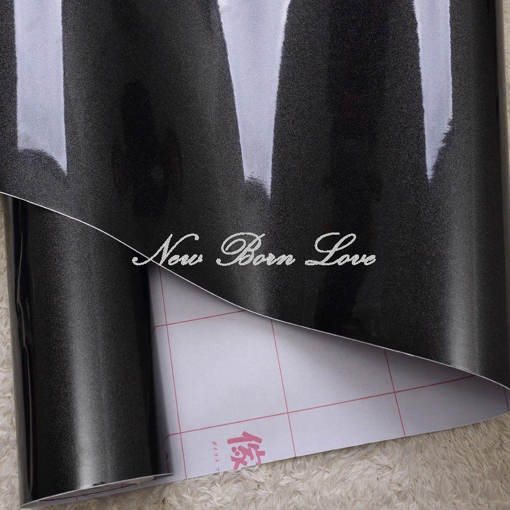 yazi Black Contact Paper Self Adhesive Removable Cupboard Door ...