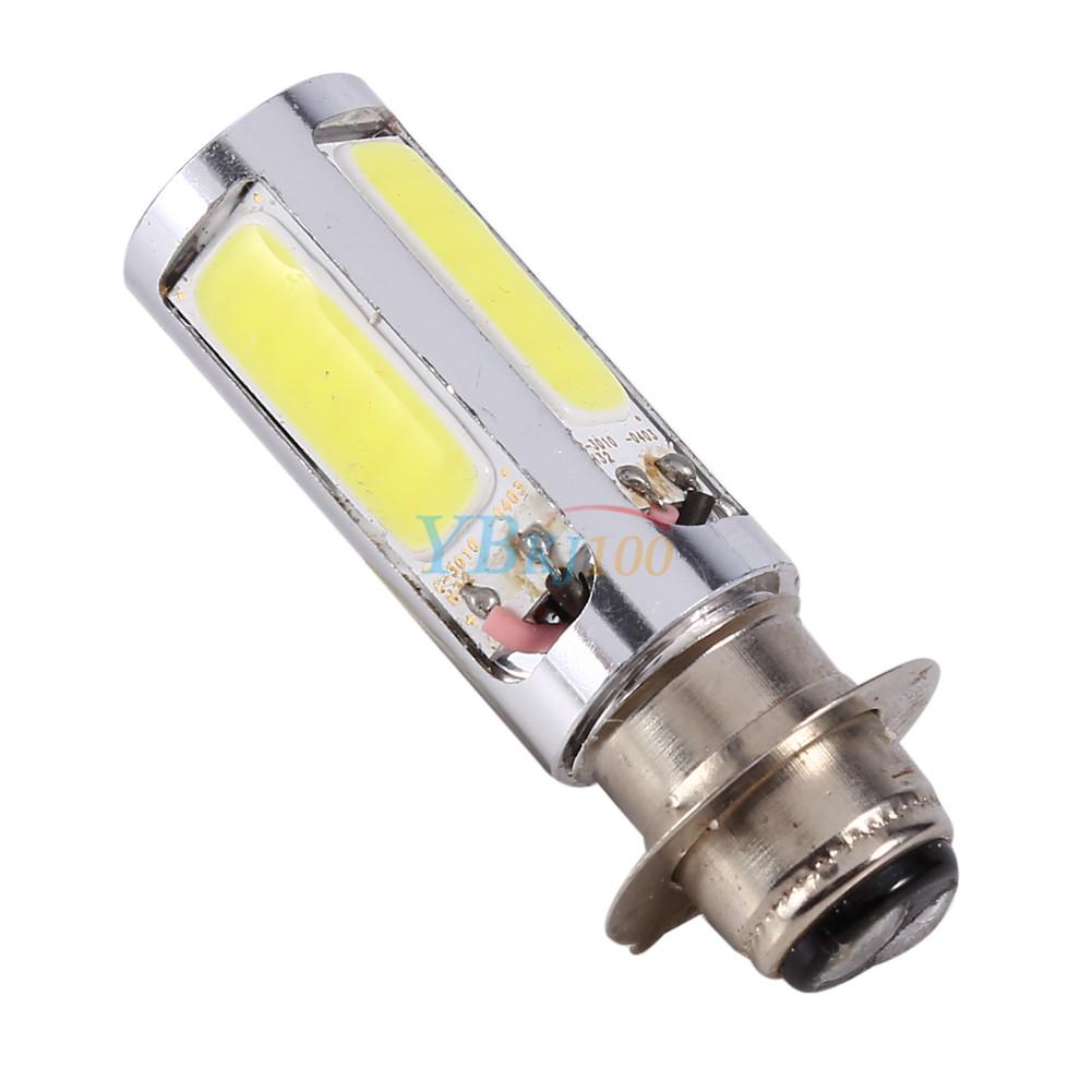 Atv Headlight Bulbs : White h m cob led motorcycle atv headlight fog light