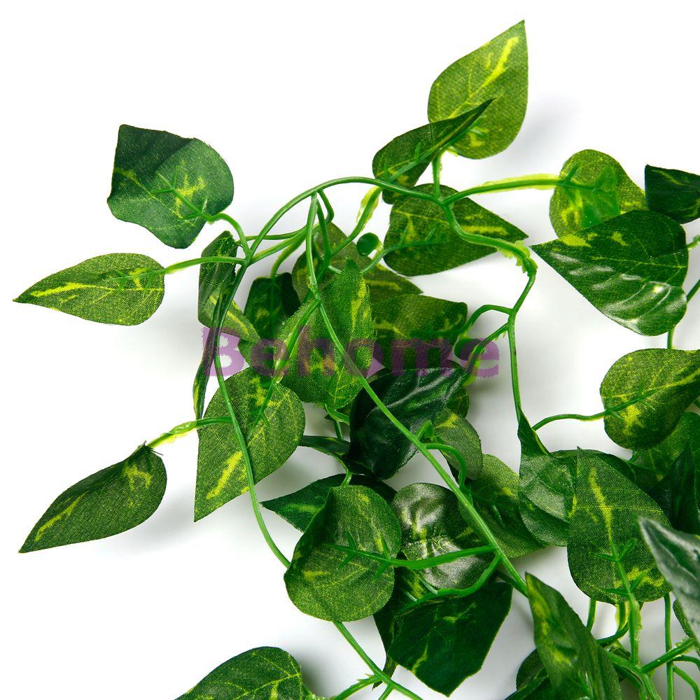Artificial Rattan Ivy Vine Plants Trailing plant Indoor ...