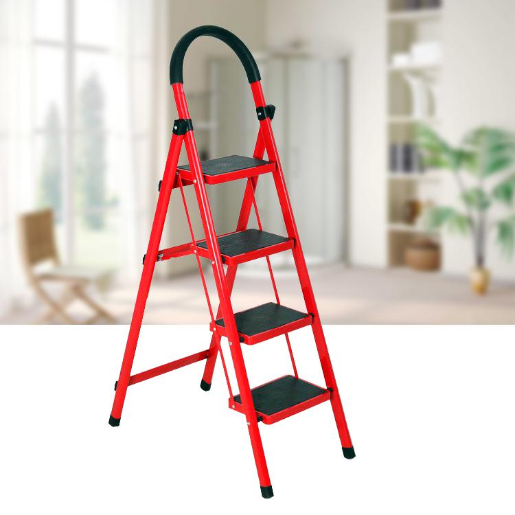 Foldable Kitchen Safety Ladder Step Non Slip Tread Folding