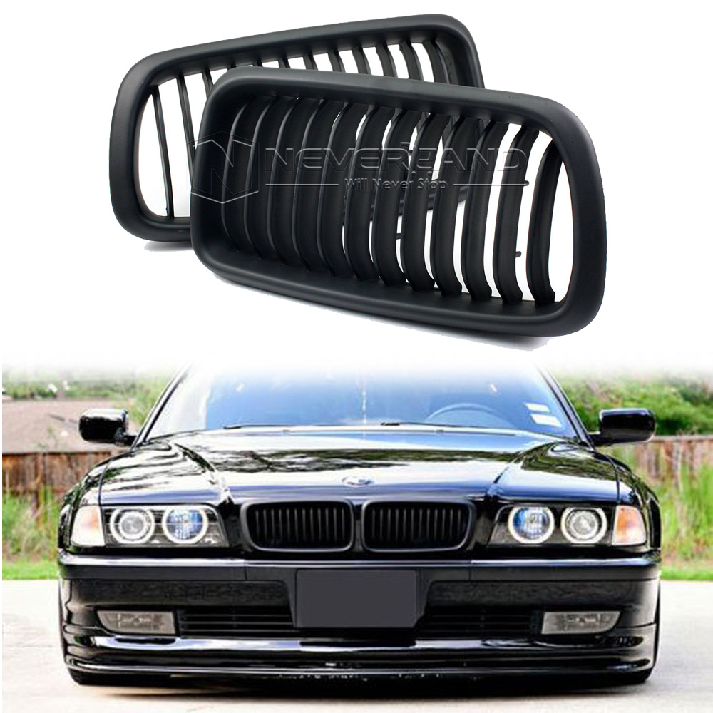2001 Bmw 740i For Sale: Front Kidney Grilles Mesh For 1998-2001 BMW E38 740 750 4