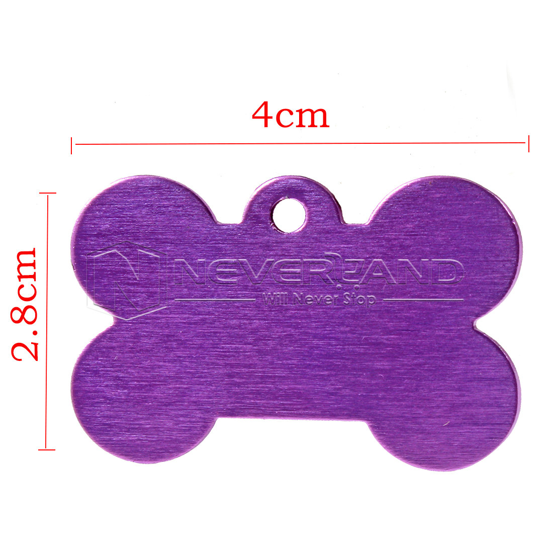 Custom Engraved Dog Pet Tag Double Sided Personalized Id