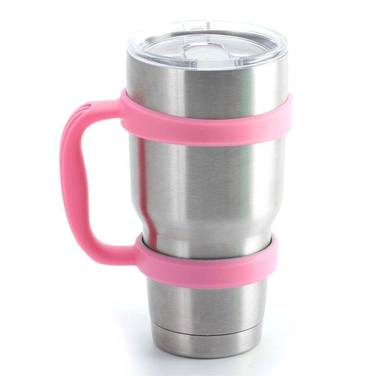 #1Pink Handle Yeti Rambler 30 oz Tumblers Rtic Mug Cup ...