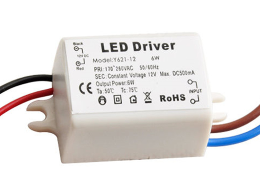 China led power supply dc 12v round led driver with 12w china.