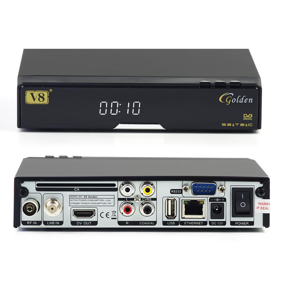 v8 golden dvb s2 t2 c cable hd satellite ac3 receiver. Black Bedroom Furniture Sets. Home Design Ideas