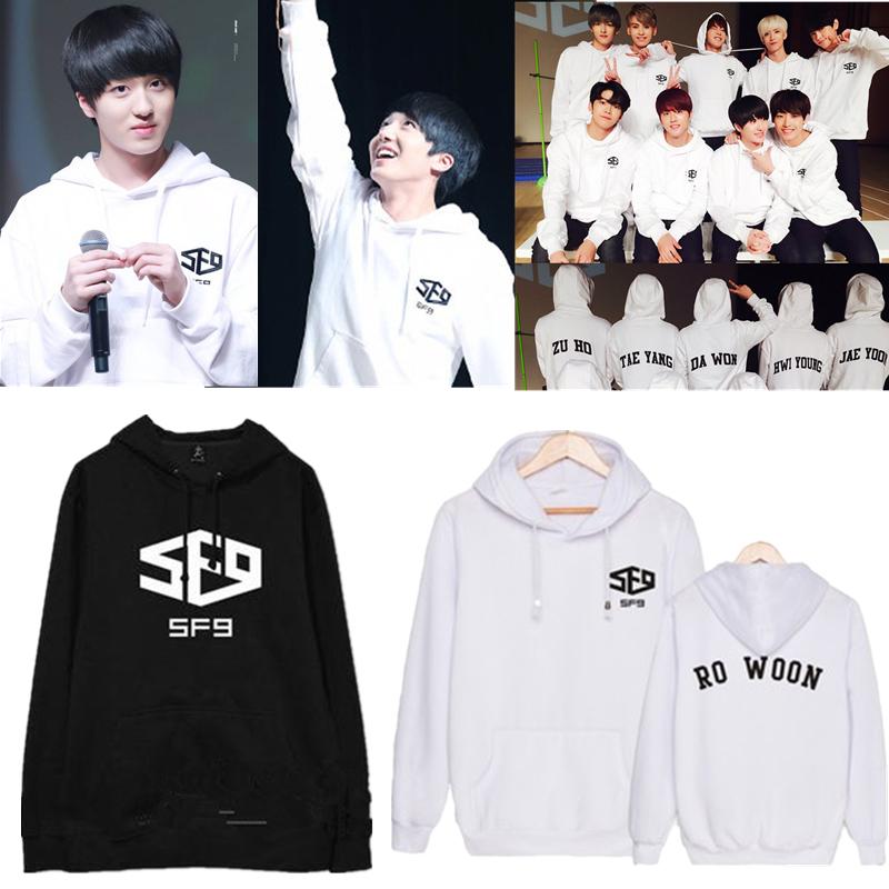 Kpop SF9 Fanfare Sweatershirt Hoodie Feeling Sensation Sweater Pullover Coat