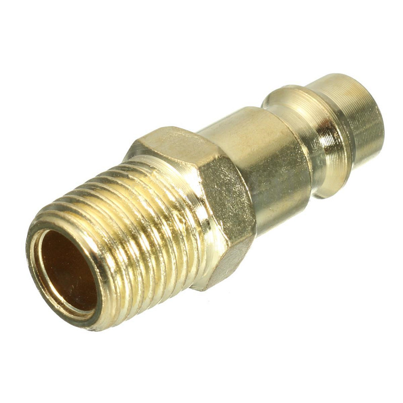 Bsp male air line hose fitting coupling adapter