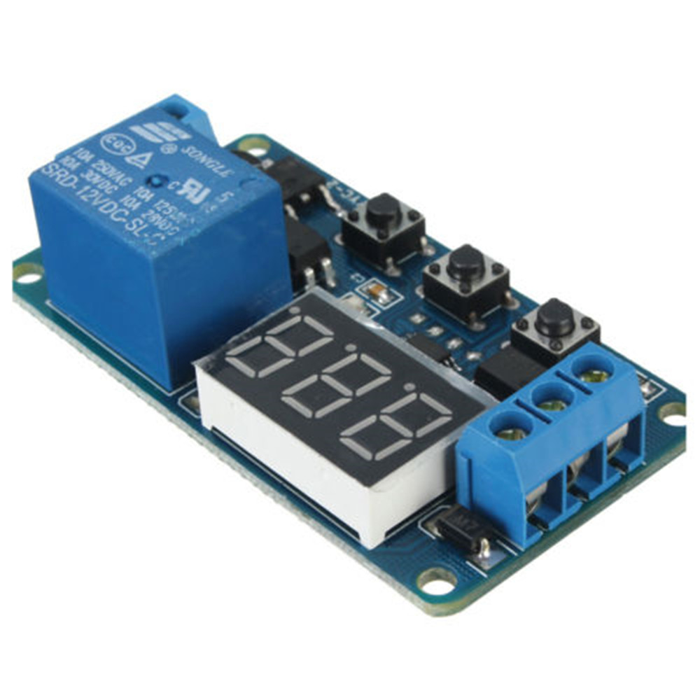 12v Led Home Automation Delay Timer Control Switch Relay