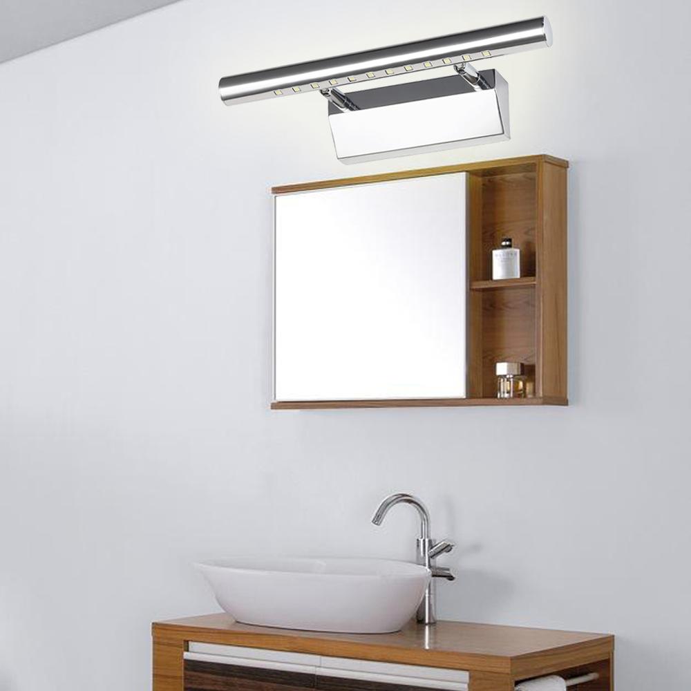 5w 7w 9w spiegelleuchte badleuchte led spiegellampe wandleuchte badezimmer lampe ebay. Black Bedroom Furniture Sets. Home Design Ideas