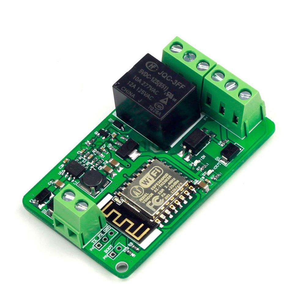 Details about DC 7-30V 5V/220V 10A ESP8266 WIFI Relay Module ESP-12F  Network Relay Module