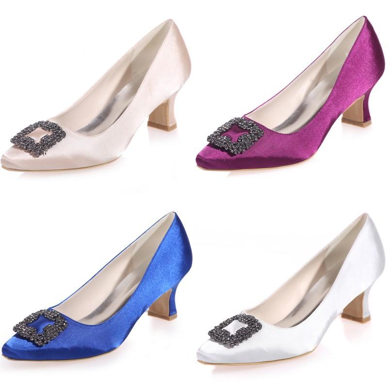fashion shoes formal prom wedding satin shoes