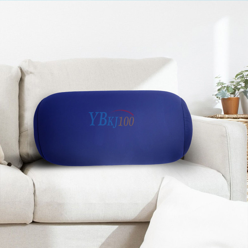 Throw Pillow Roll : 1x Microbead Back Cushion Roll Throw Pillow Travel House Sleep Head Neck Support eBay