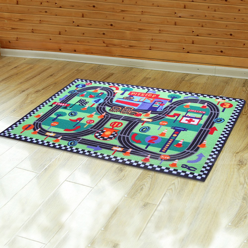 floor area rug baby child play mat anti slip bedroom living room carpet ebay