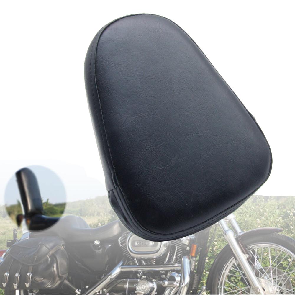 Motorcycle Passenger Sissy Bar Backrest Cushion Pad for Harley Chopper Universal