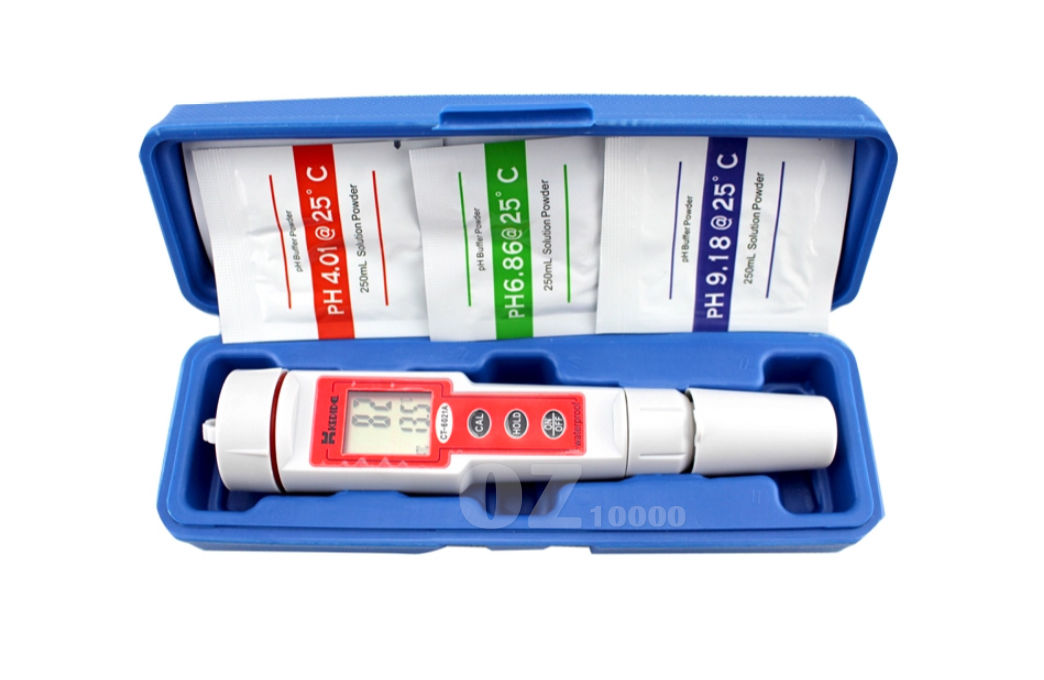 Digital Ph Tester Meter Pool Water Test Kit Lcd Monitor Hydroponic Water Quality Ebay