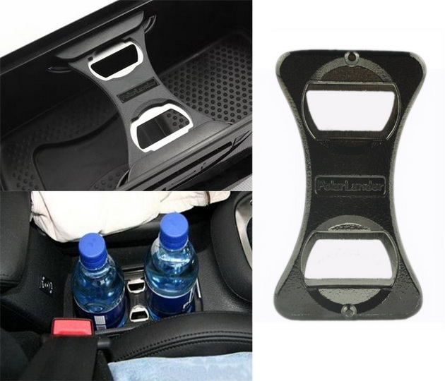 portable cup holder divider car bottle beer opener for vw golf jetta 5 6 gti r3. Black Bedroom Furniture Sets. Home Design Ideas