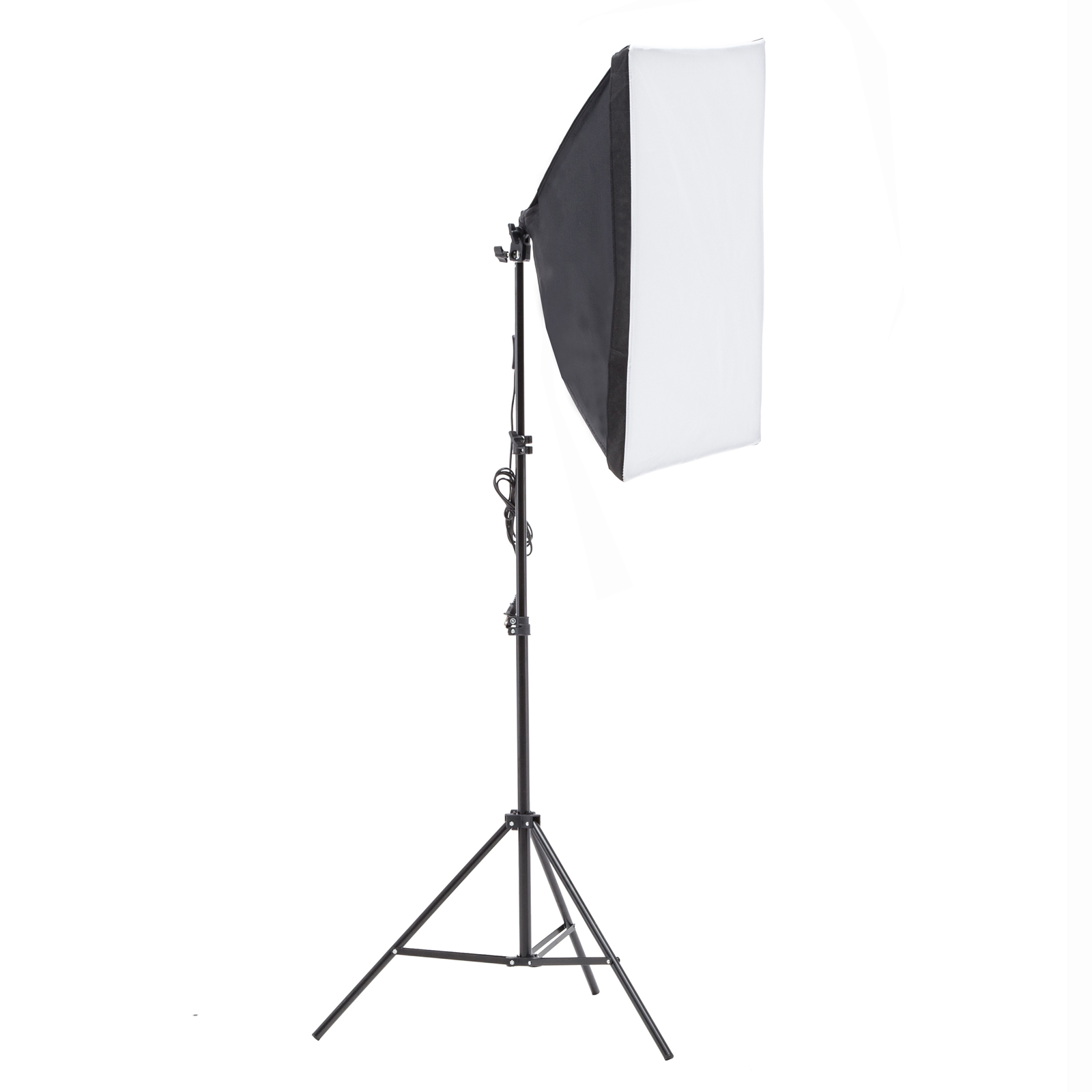 Photo Studio Photography Lighting Kit Muslin Backdrop