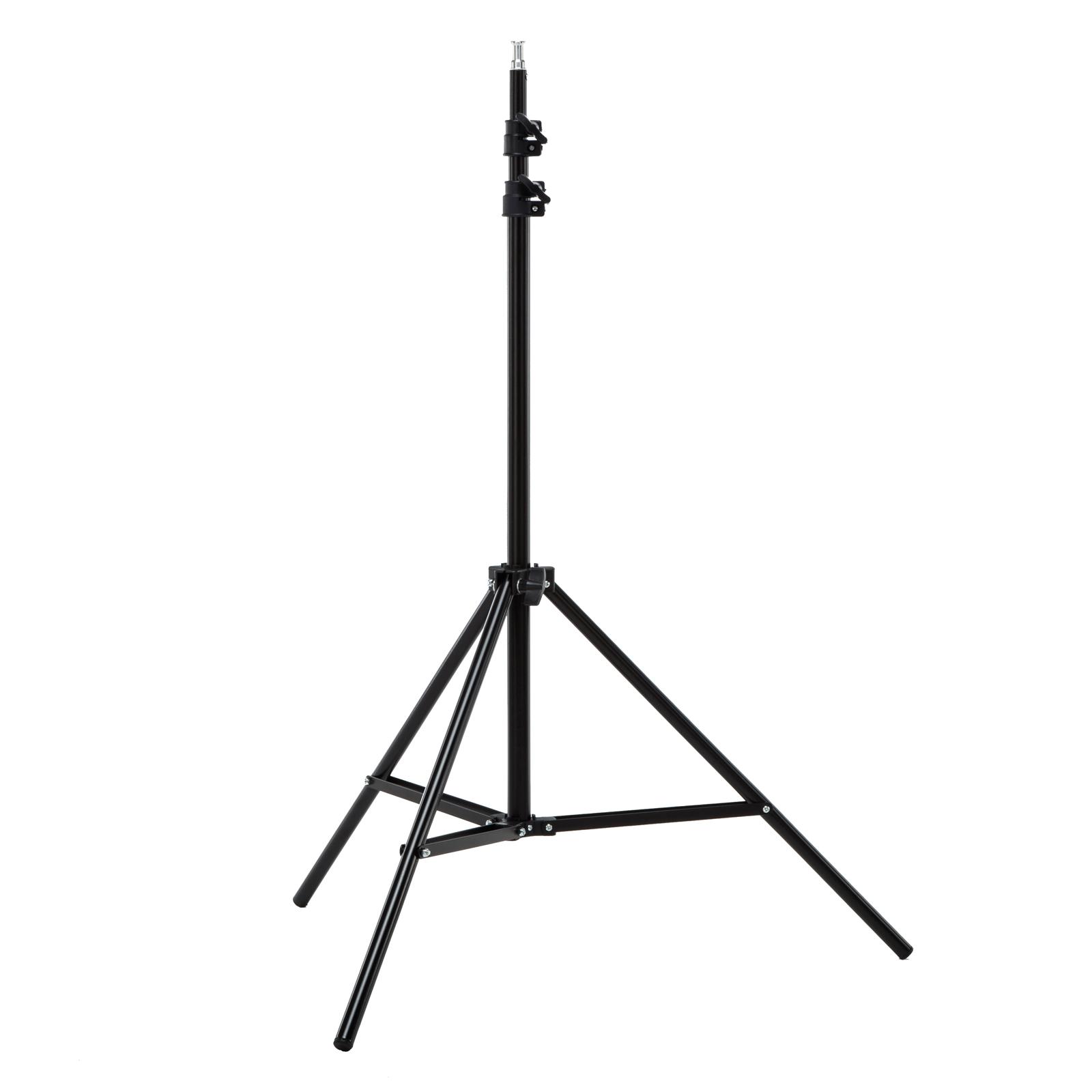 """Diffused Light Stand: White 2x 33"""" Photo Studio Umbrella Reflector Lamp"""