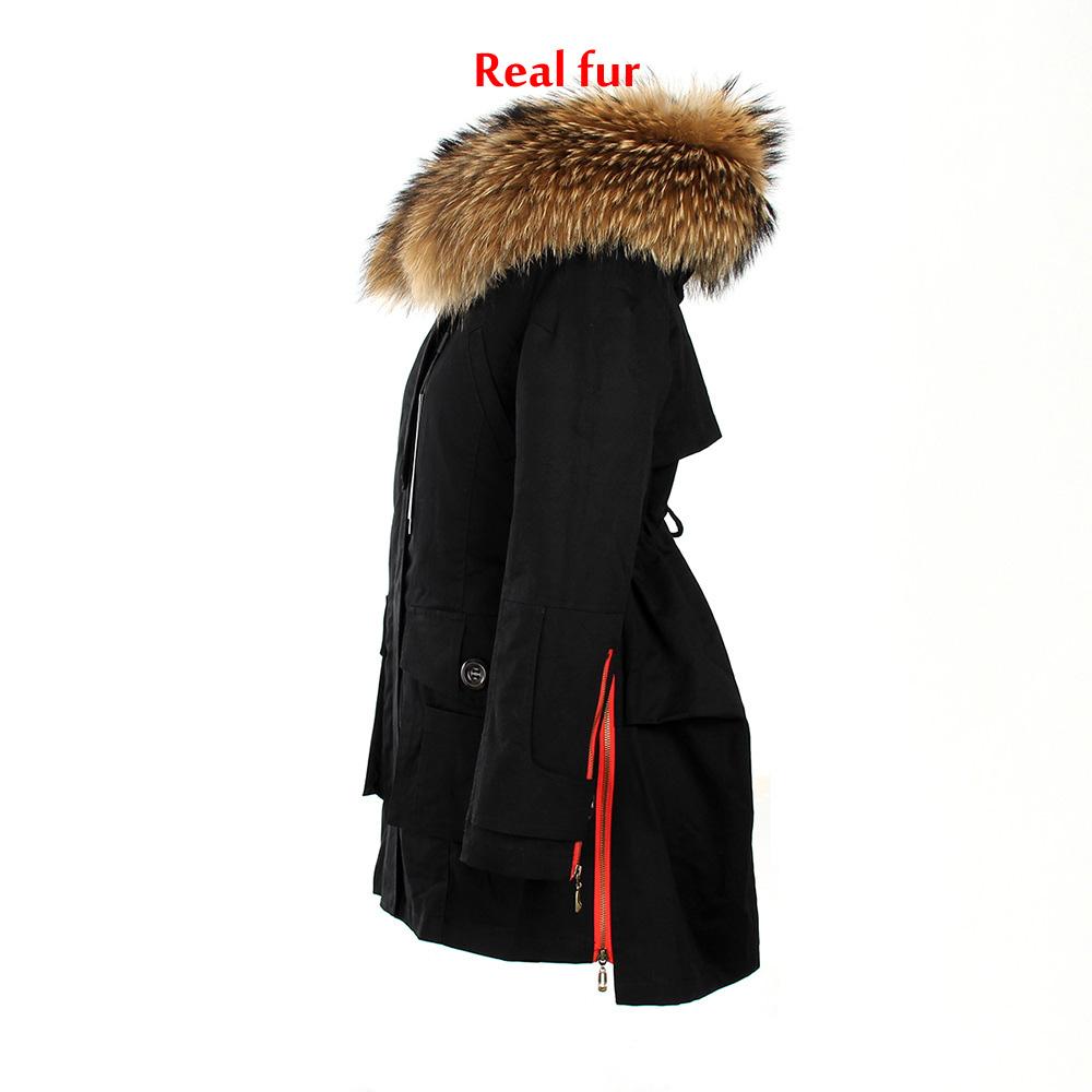 2018 damen winterjacke baumwolle mantel daunenjacke. Black Bedroom Furniture Sets. Home Design Ideas