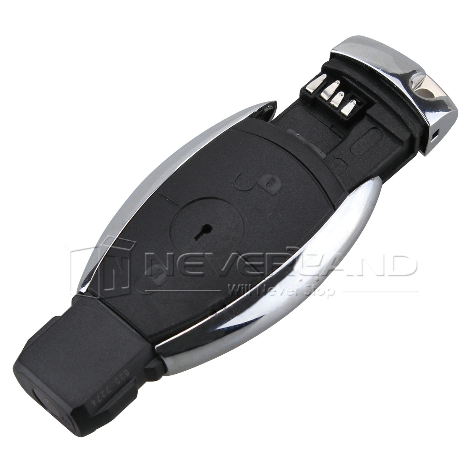 Replacement keyless remote key shell case fob 2 button fit for Replacement key for mercedes benz
