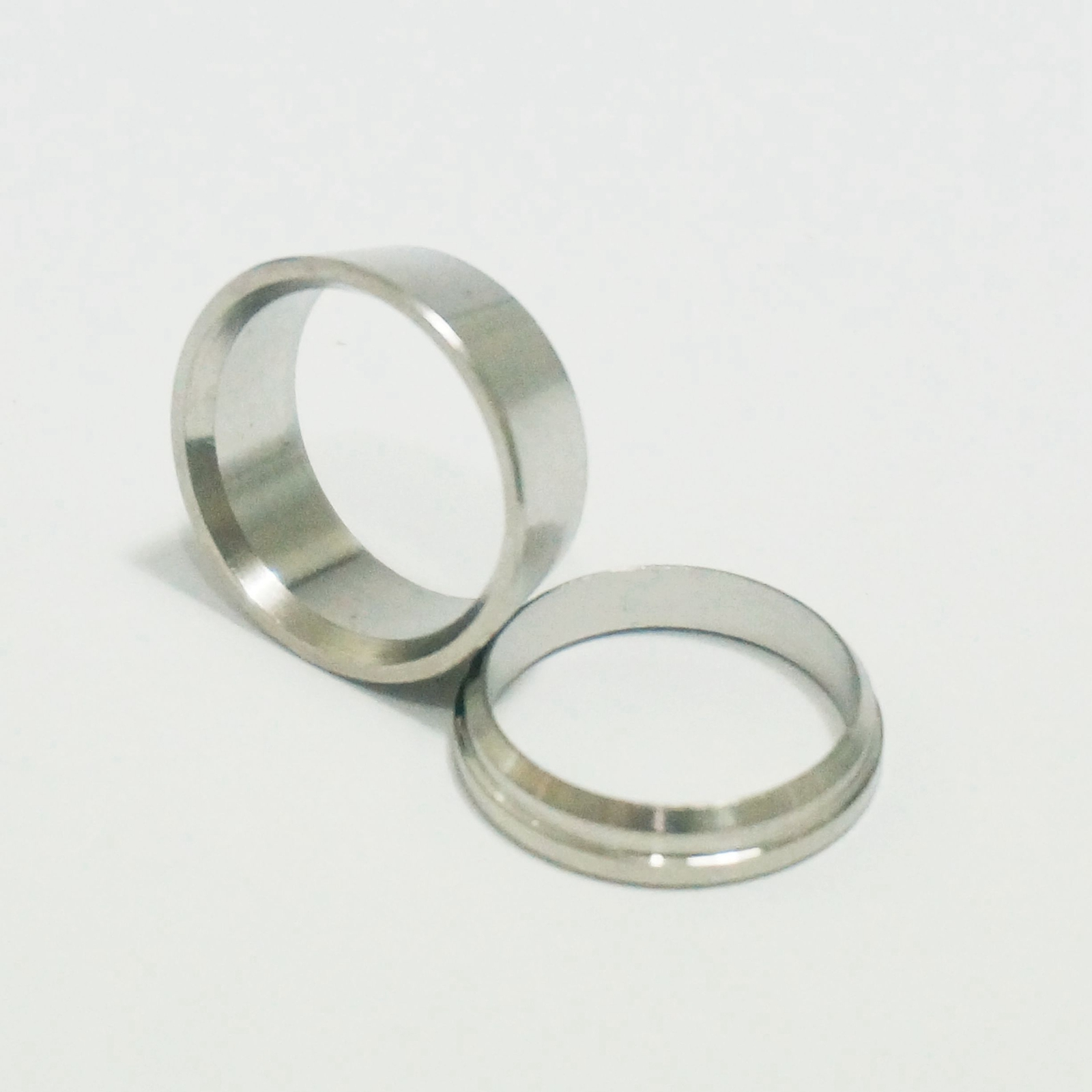 Lot stainless compression sleeves ferrule ring for
