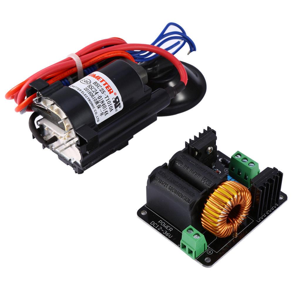 Ignition Coil Input Voltage: ZVS Tesla Coil Flyback Driver/Marx Generator/Jacob'ladder
