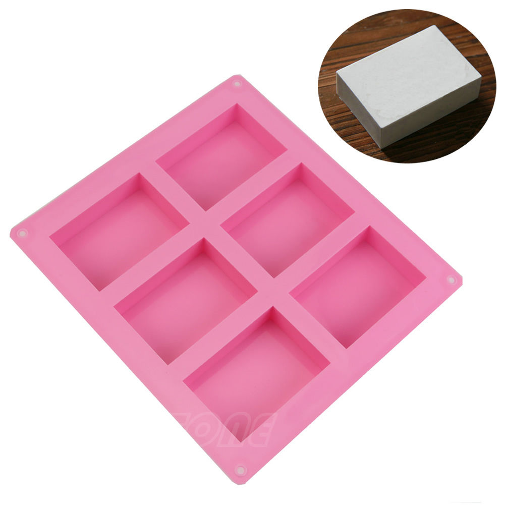 Silicone 3D Chocolate Soap Mold Cake Candy Baking Mould
