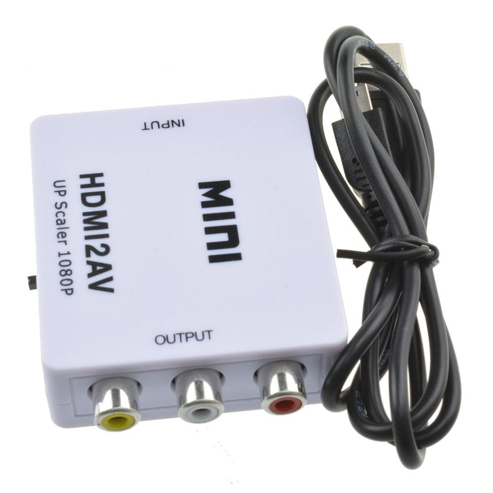 For Hdtv Mini Composite 1080p Hdmi To Rca Audio Video Av
