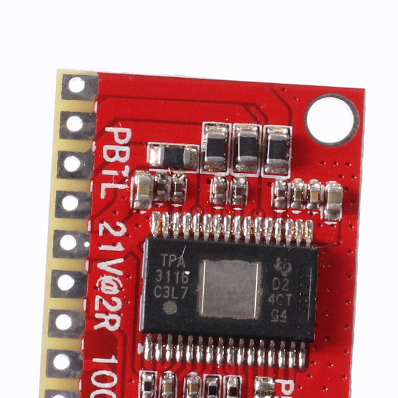 OEP50W*2 Dual Stereo Digital Amplifier 4.5-24V 50W+50W D Class