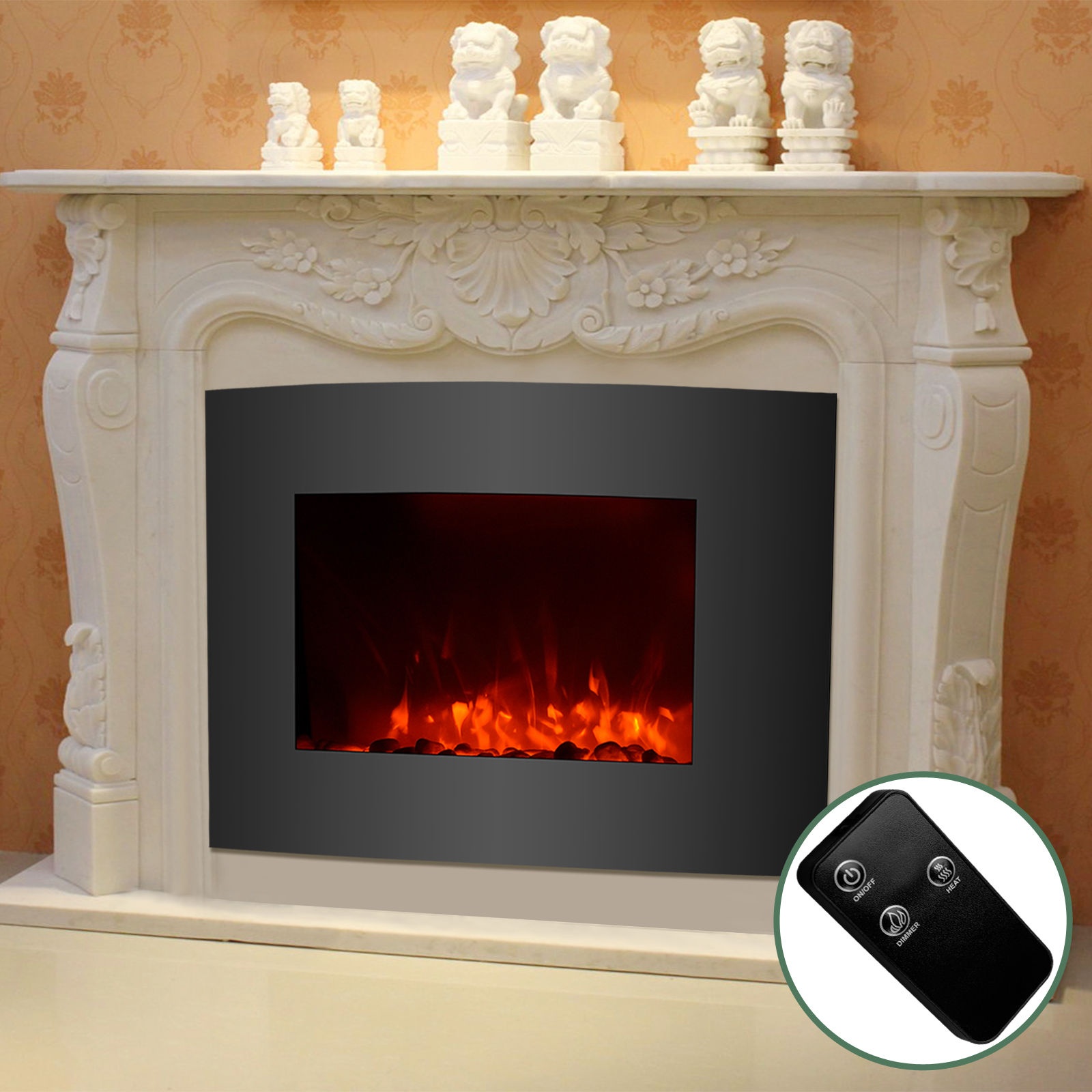 Wall Mount Electric Fireplace Front Vent 28 Images Amantii Convex Front Wall Mount Electric