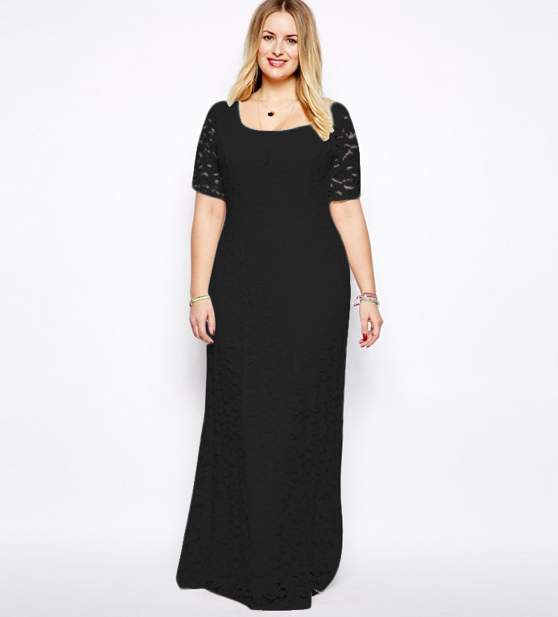Formal short dresses for plus size women
