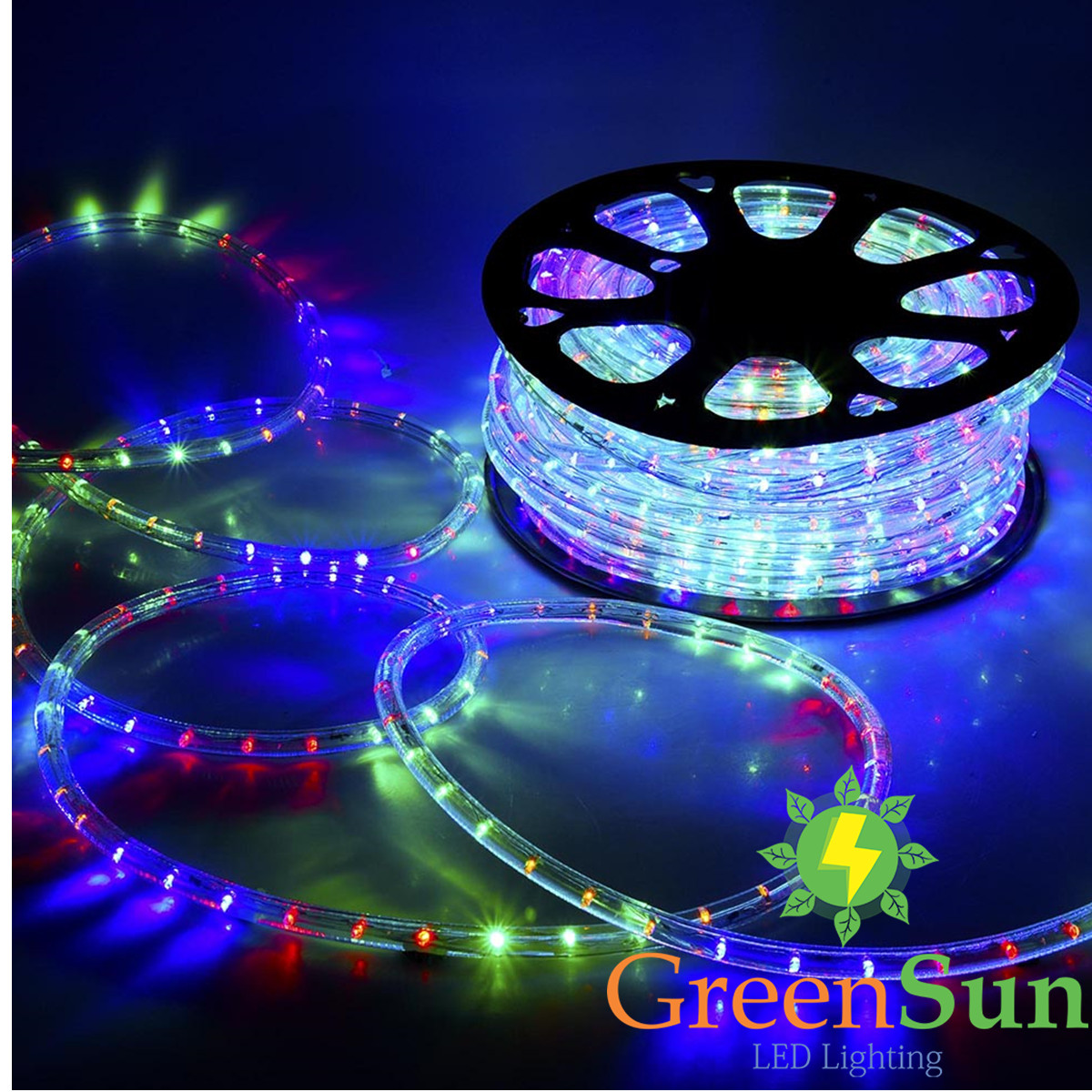 de 20m 100m rgb led streifen strip band 36leds m lichtkette lichtschlauch au en ebay. Black Bedroom Furniture Sets. Home Design Ideas