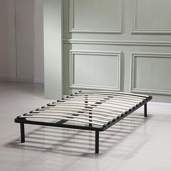twin wood slat metal bed frame platform bedroom mattress foundation furniture ebay. Black Bedroom Furniture Sets. Home Design Ideas