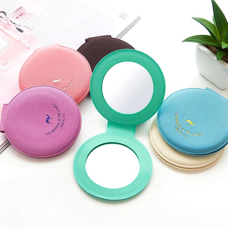 mini miroir de poche rond cosm tique maquillage beaut