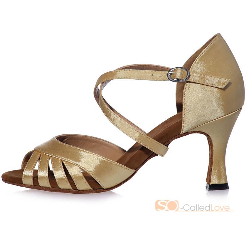 Inch Heel Ballroom Dance Shoes