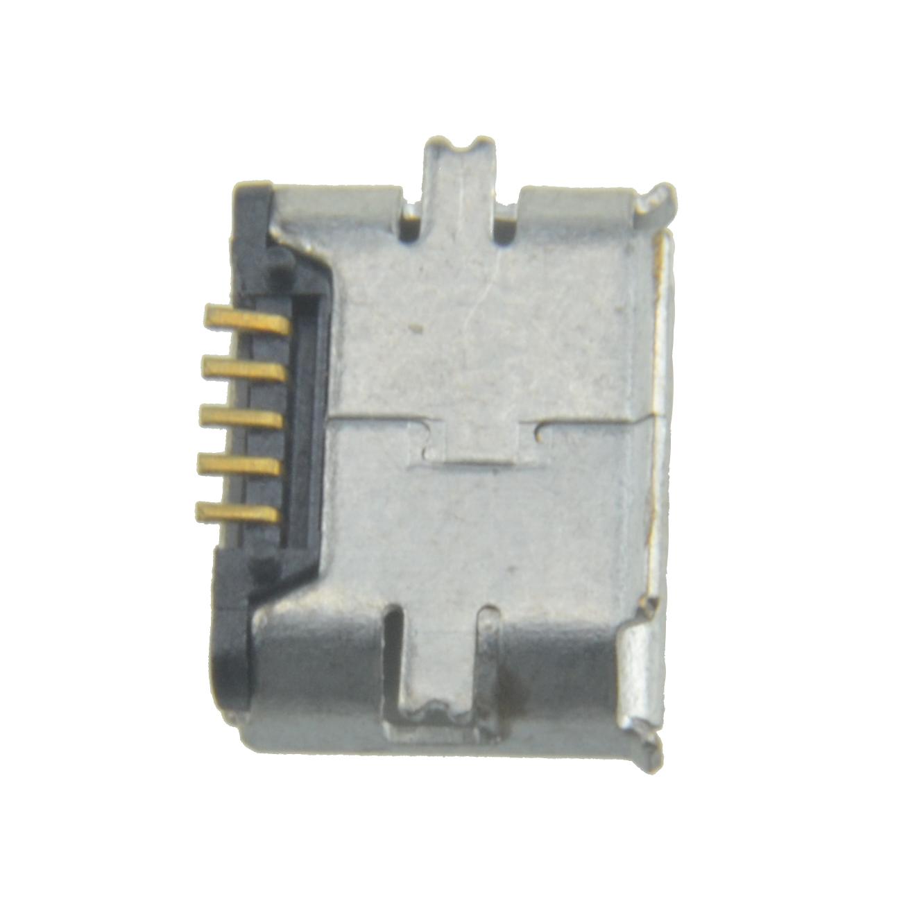 Stk female pin smt micro usb socket connector jacks