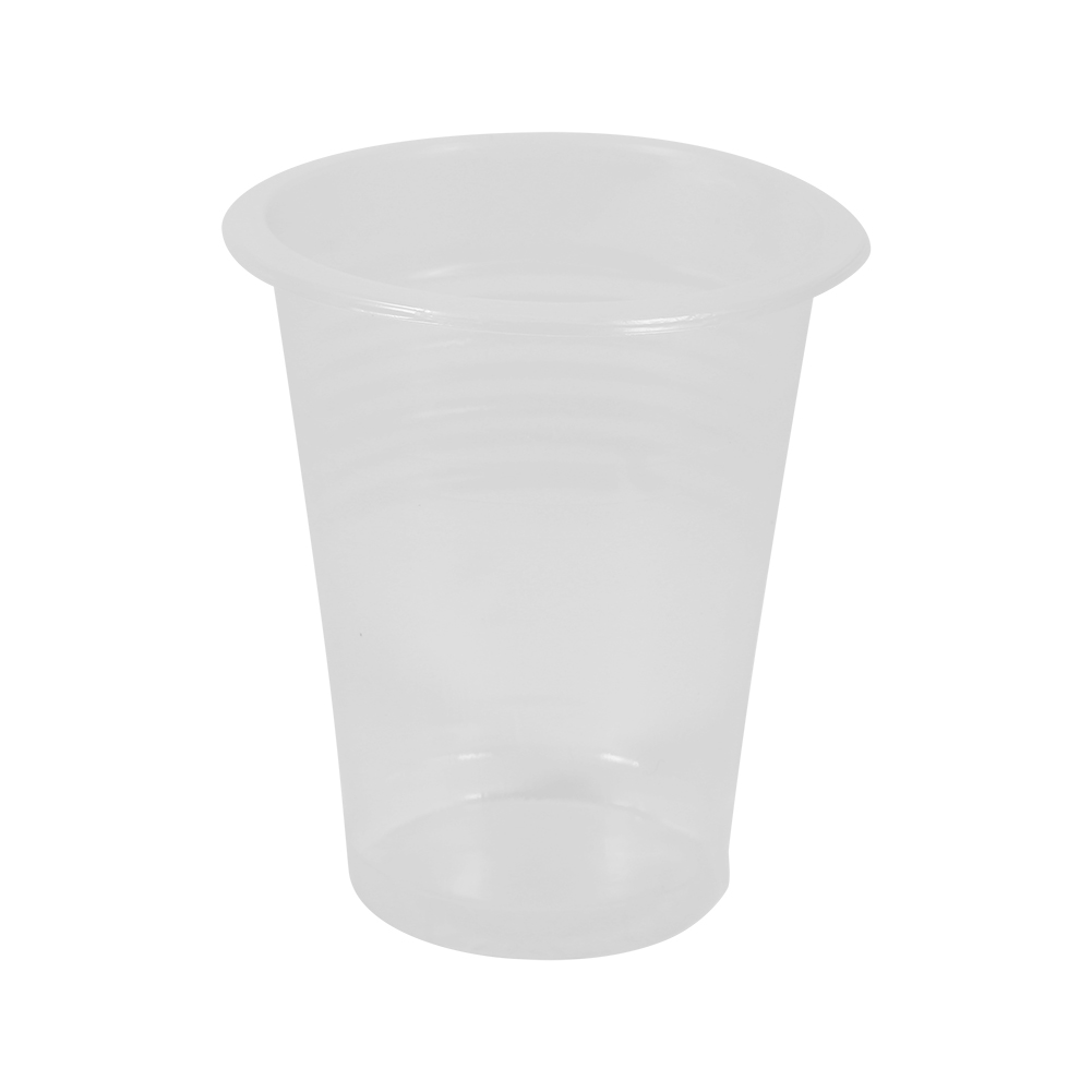 100 Pieces Clear Plastic Healthy Disposable Drink Cups New ...
