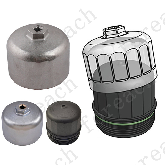 86mm Oil Filter For Bmw Volvo Wrench Filter Housing Caps