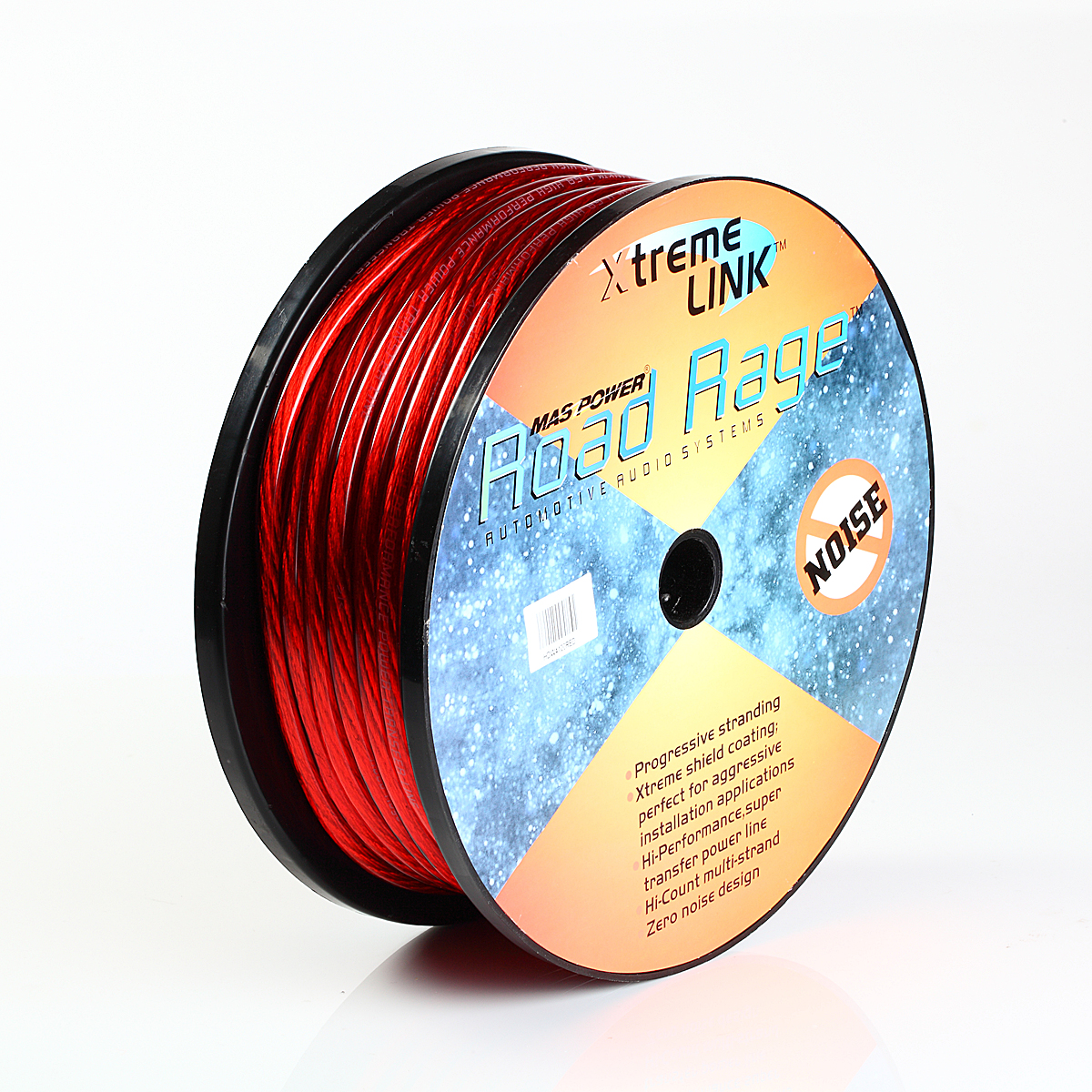 100ft 4ga 4awg Cca Red Power Cable Wire Heat Resistance For Sound High Performance Car Audio Wiring Gauge