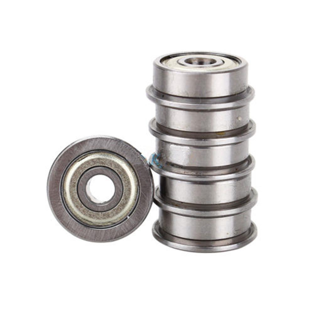 Pcs f zz mm miniature metal shielded flanged