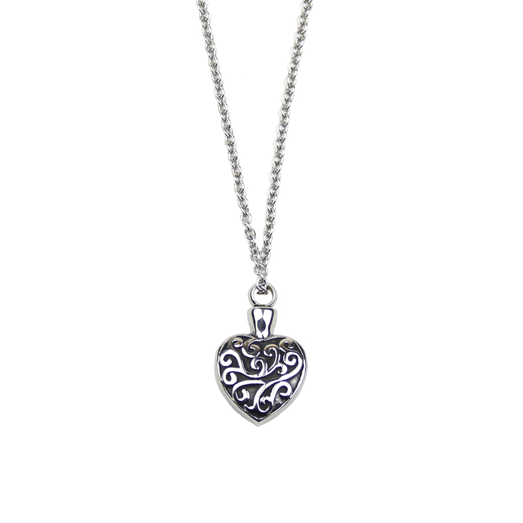 ms cremation ashes titanium pendant necklace butterfly