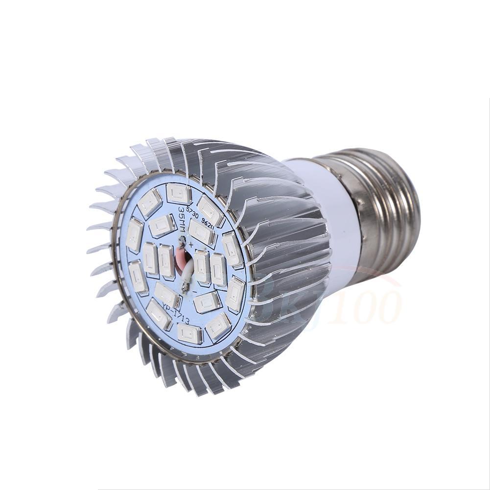 e27 e14 gu10 led grow light full spectrum growing lamp. Black Bedroom Furniture Sets. Home Design Ideas