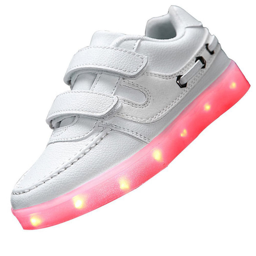 SAGUARO Baby Toddler Kids Light Up Shoes Rechargeable USB