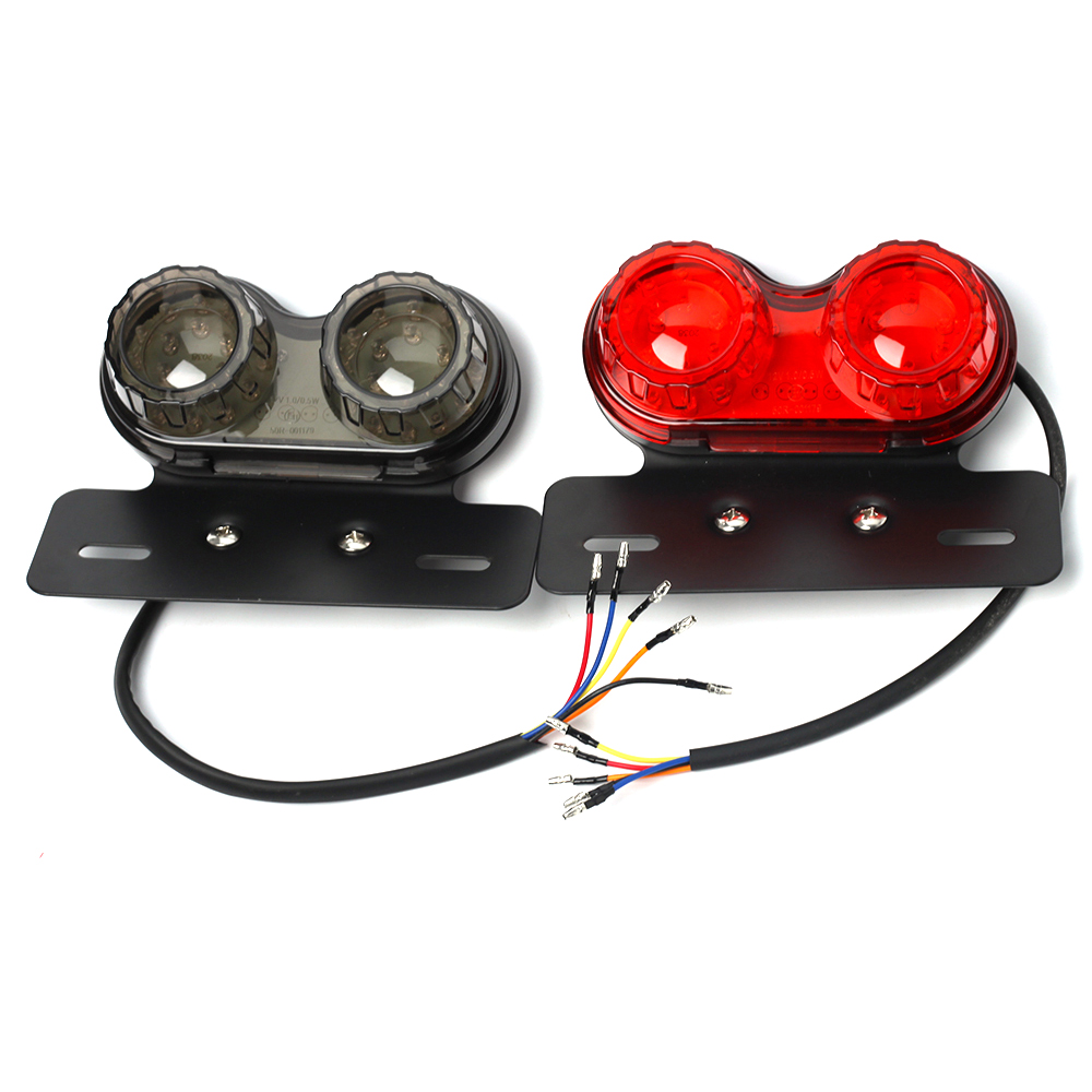motorcycle scooter 40w rear light e tested brake light. Black Bedroom Furniture Sets. Home Design Ideas