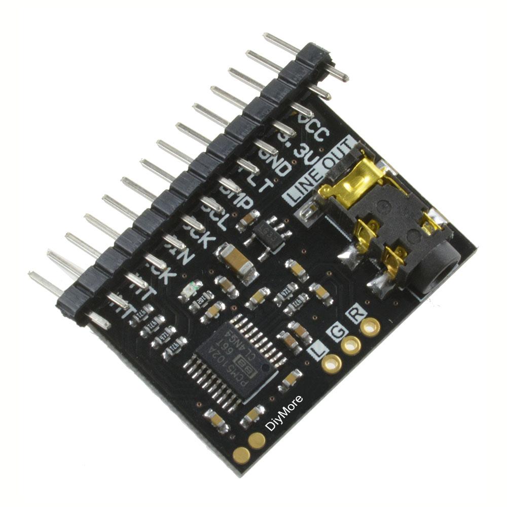 Купити SA9227 PCM5102 TDA1308 PCM5102A DAC Decoder I2S Playe