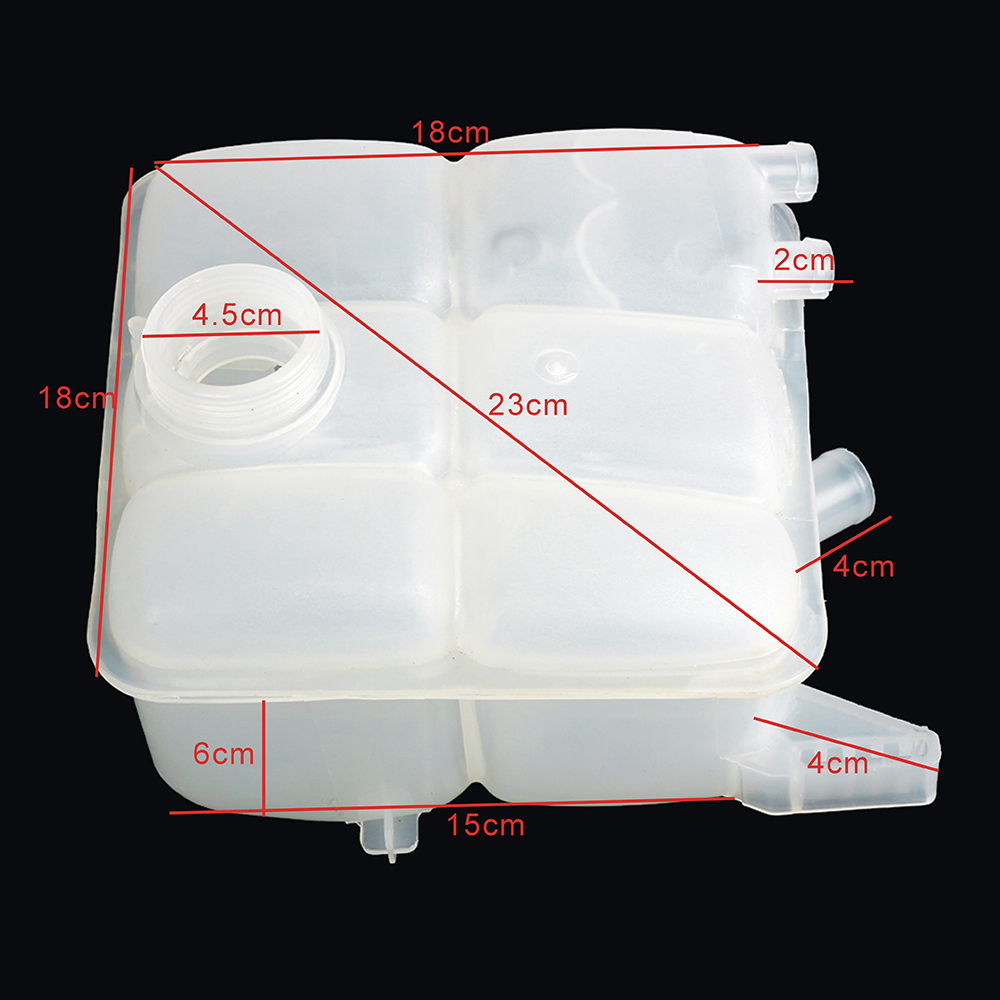 radiator water coolant overflow tank for ford focus escape c max cv6z 8a080 a ebay. Black Bedroom Furniture Sets. Home Design Ideas