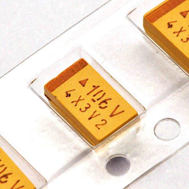 20pcs Tantalum Capacitors 25V 2.2uF Type A SMD 1206 10/% Surface Mount