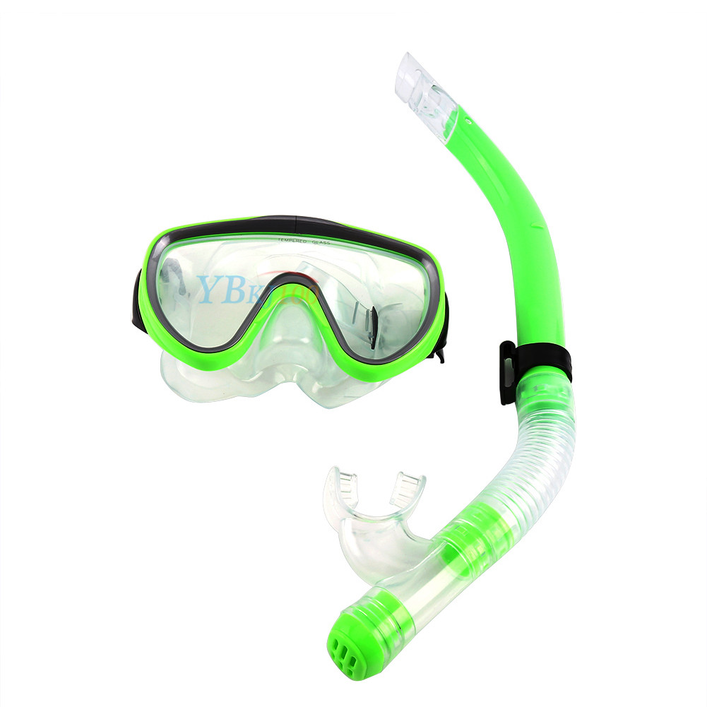 Adult-Scuba-Diving-Snorkel-Set-Dive-Mask-Water-Goggles-Snorkeling-Swimming-OB