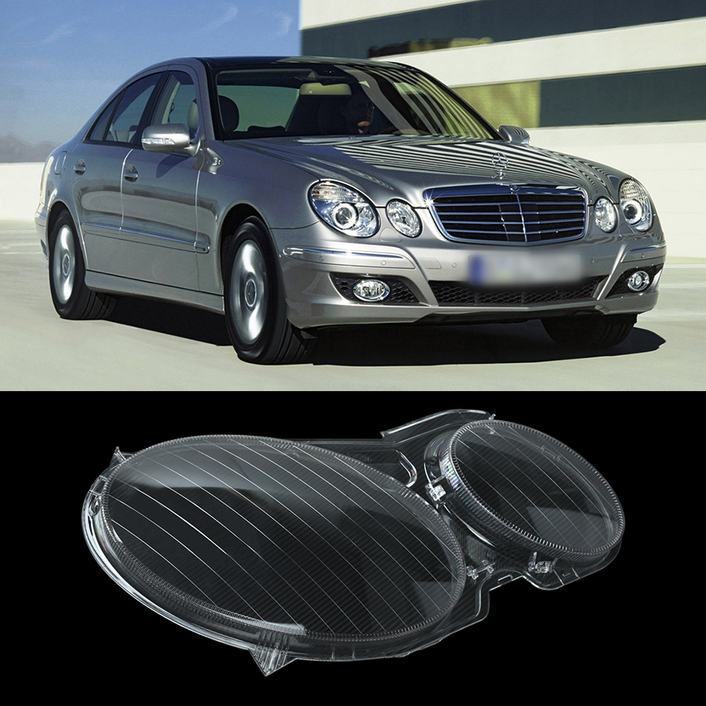 Car headlight headlamp lens replacement cover for mercedes for Mercedes benz e350 car cover